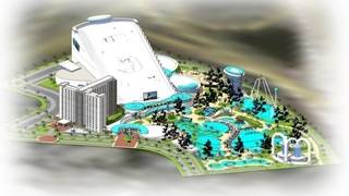 What happened to plans for $300M snow mountain facility in Kissimmee?