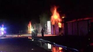 At least 72storage units destroyed in massive fire in Willis