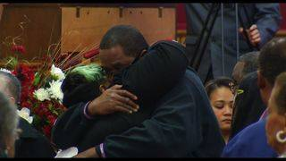 Family and friends gather in church in memory of Axton murder victim