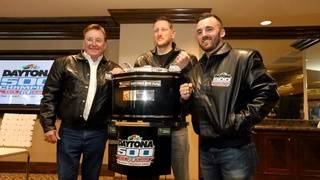 Dillon honored at Daytona 500 champions breakfast