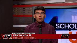 Scholar Athlete: Eric Banda Jr., Highlands High School