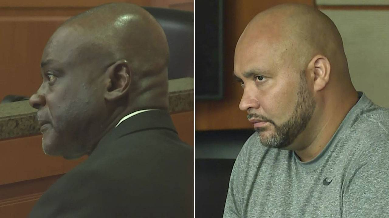 Gerald Goines and Steven Bryant in court 8-23-19