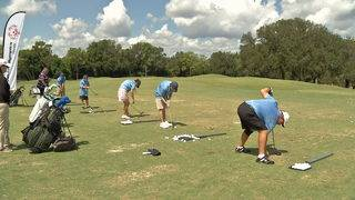 The Players Championship surprises Special Olympians with golf clubs