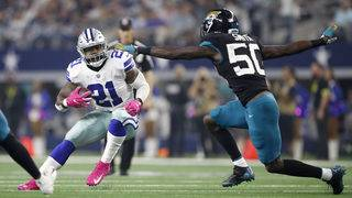 Prescott sparks punchless pass game as Cowboys rout Jags
