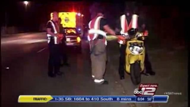 Man Breaks Leg In Scooter Crash Caused By Deer