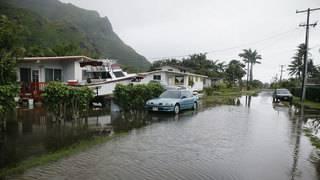 Hawaii hit with devastating flooding