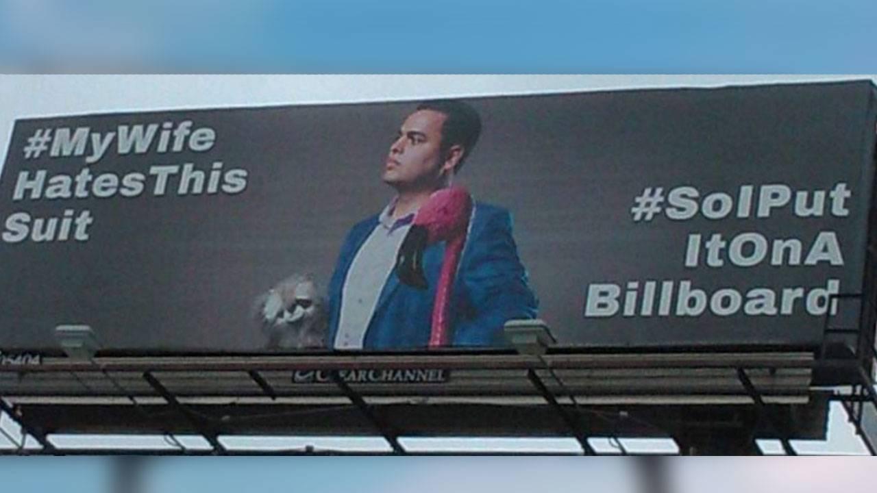 San Antonio man trolls wife with hilarious billboards