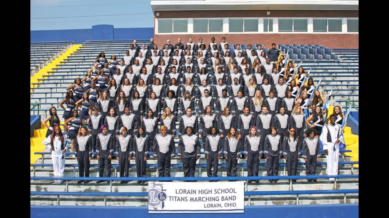Lorain Marching Band
