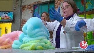 MAD SCIENCE MONDAY: Move over, slime! It's foam's time to shine
