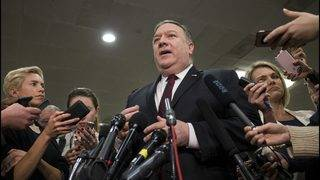Pompeo on Iran: US considering range of options including military