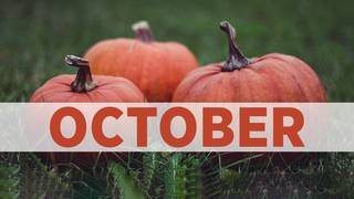 October birthday photos