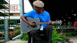 How Robert Bradley went from blind Detroit street musician to touring the world