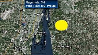 Did you feel the earthquake Thursday night in SE Michigan?