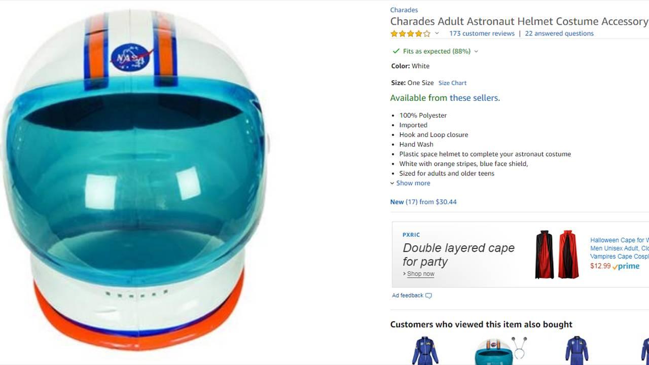 Space helmet Amazon 10719