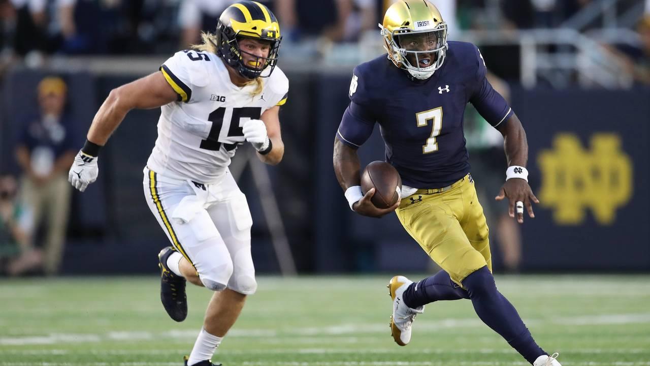 Chase Winovich Michigan football vs Notre Dame 2018