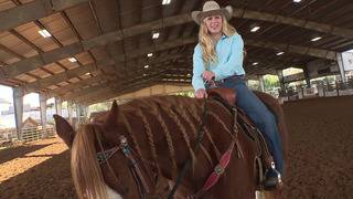 VIDEO: Boerne teen making name for herself in rodeo world, locally