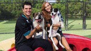 Megan Lambo enjoys Pet Paradise and being wife of Jaguars player