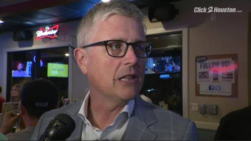 Jeff Luhnow offers update on state of Astros