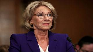 DeVos blasted again for proposing cuts to the Special Olympics