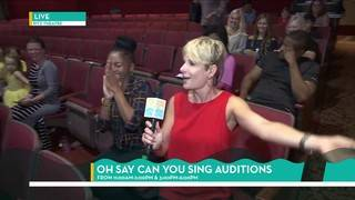 Eden Heads to the Oh Say Can You Sing Auditions | River City Live