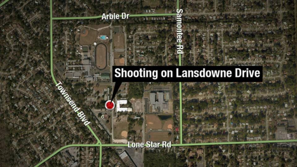 Map - Landdowne shooting
