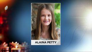 Loved ones attend funeral of Alaina Petty