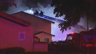 Residents forced out of Coral Springs apartment building after fire