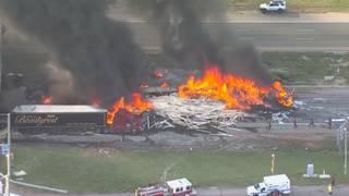 Multiple people killed in fiery crash near Denver