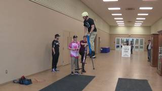 Pogo Stick tricks delight crowds at SA Stock Show & Rodeo