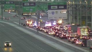 2 hurt after 3-car crash along Florida's Turnpike in Davie