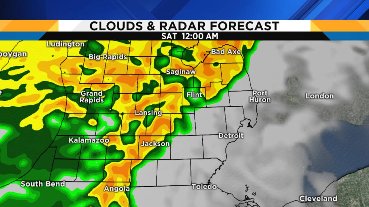 Grand Rapids Weather Map.Metro Detroit Weather Forecast A Lot Of Rain Is Headed Our Way