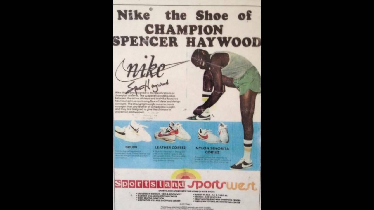 Spencer Haywood Nike ad