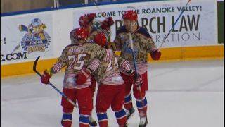 Roanoke squeaks past Huntsville in a shootout, 2-1