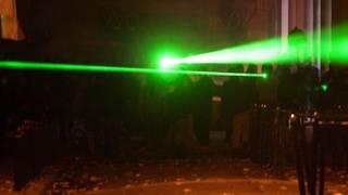 Laser pointer burns hole in boy's retina