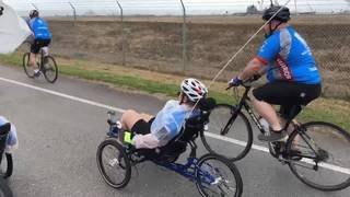 Dozens of veterans ride together during Soldier Ride