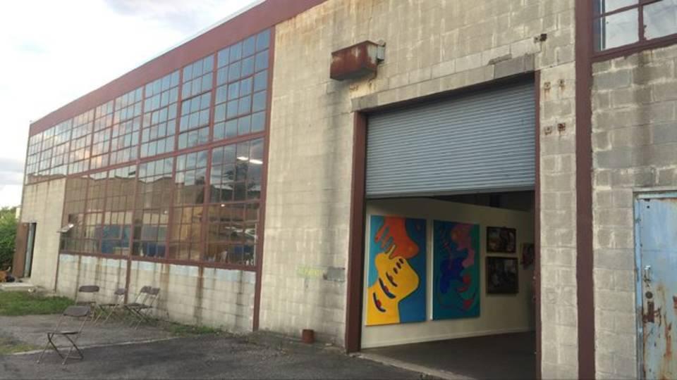 BIG Art Show building