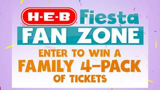 Ticket giveaway! Sit in the H-E-B Fiesta Fan Zone during a parade