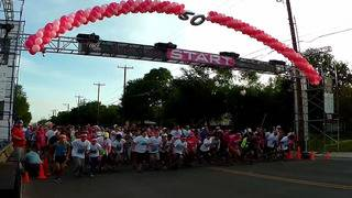 Participants help raise nearly $1.2 million during Susan G. Komen race