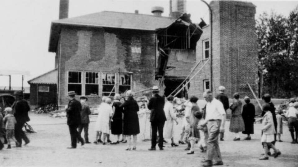 School after bombing