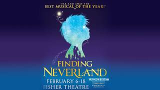 Six tickets to Finding Neverland at the Fisher Theatre and a children's&hellip&#x3b;