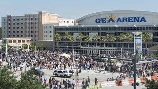 CFE Arena no more: UCF's on-campus entertainment center to get new name