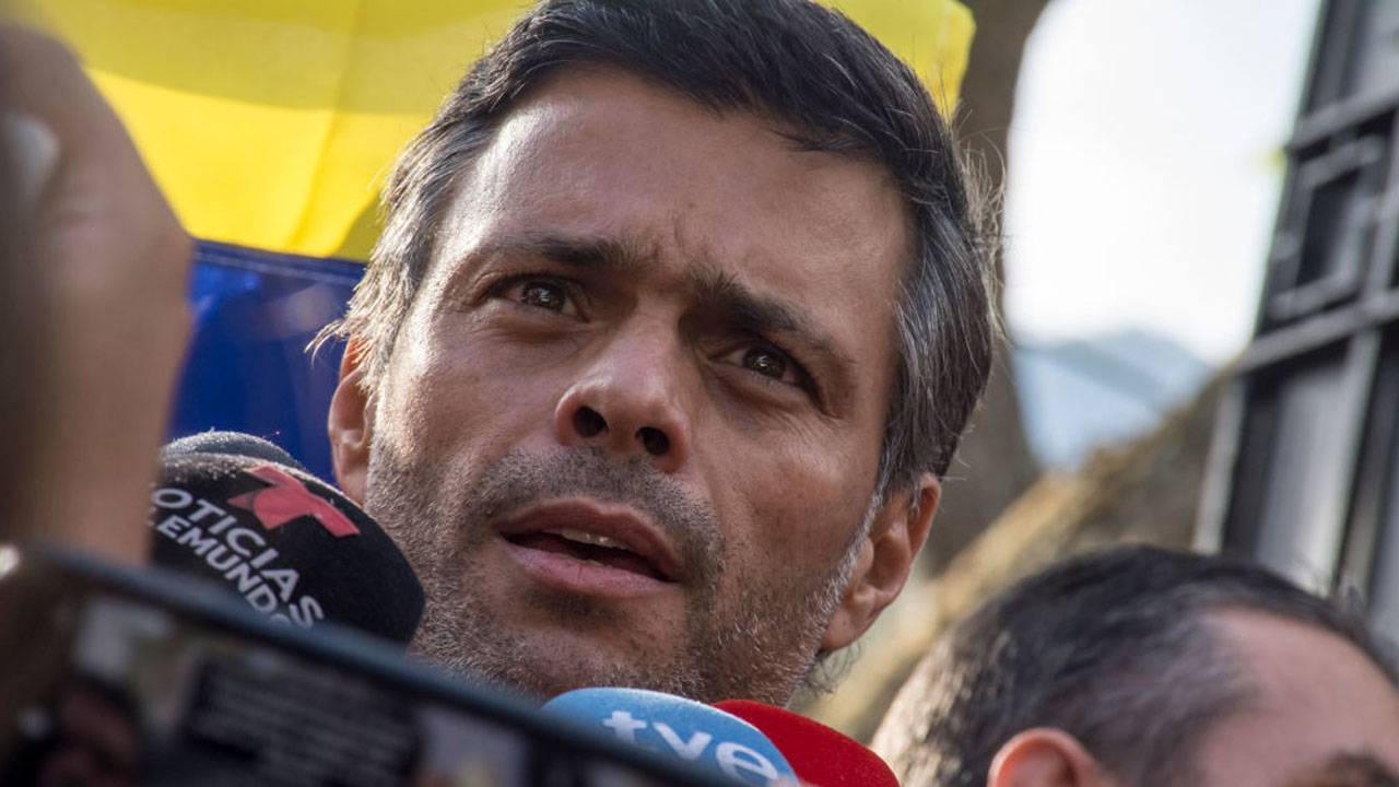 Leopoldo Lopez Venezuela Caracas May 2