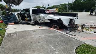 4 injured, including child, after pickup truck crashes into bus stop in&hellip&#x3b;
