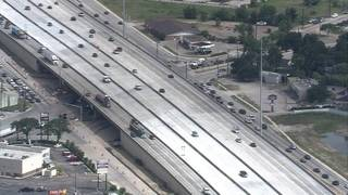 Less traffic? Portion of Highway 290 east opens to 5 lanes