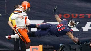Texans get 9th straight win, 29-13, win over Browns