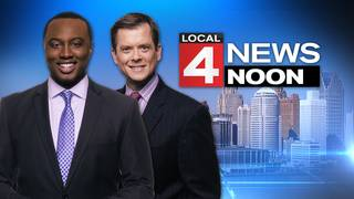 Watch Local 4 News at Noon -- January 22, 2018