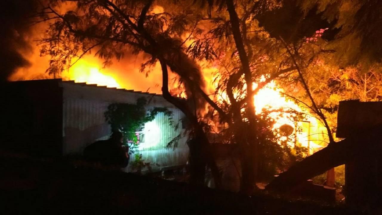 Mims fatal house fire