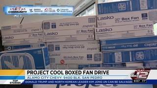 Project Cool fan drive at Alamo City Chevrolet