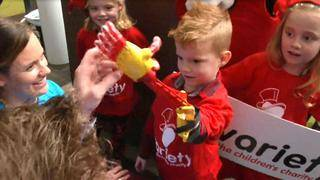 4-Year-Old Boy Born Without Part of His Arm Gets 3D-Printed Limb