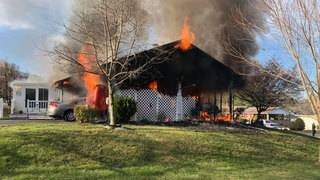 Buena Vista couple, dog saved from burning home by police officers